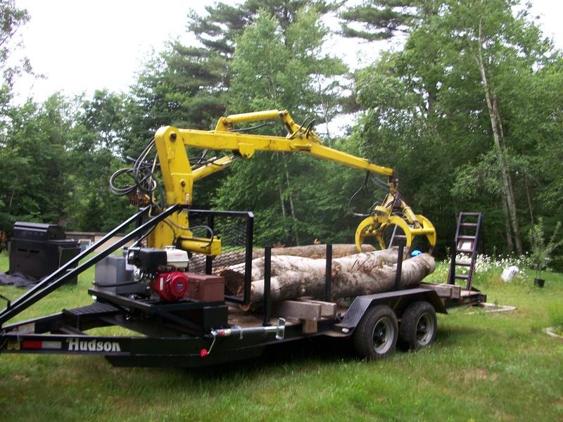 Hudson 12 39 grapple trailer arbormore tree for Hudson log